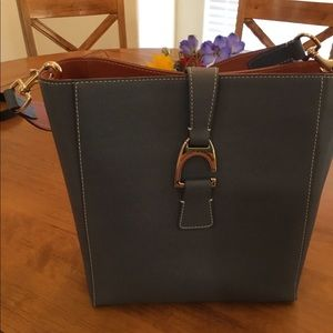 Dooney and Bourke Saffiano Leather Bag - Ashby